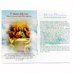Prayer Book Holy Rosary 10x15 cm