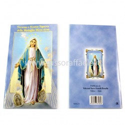 Book Novena to Our Lady of the Miraculous Medal 10x15 cm